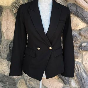 Forever 21 fitted black blazer